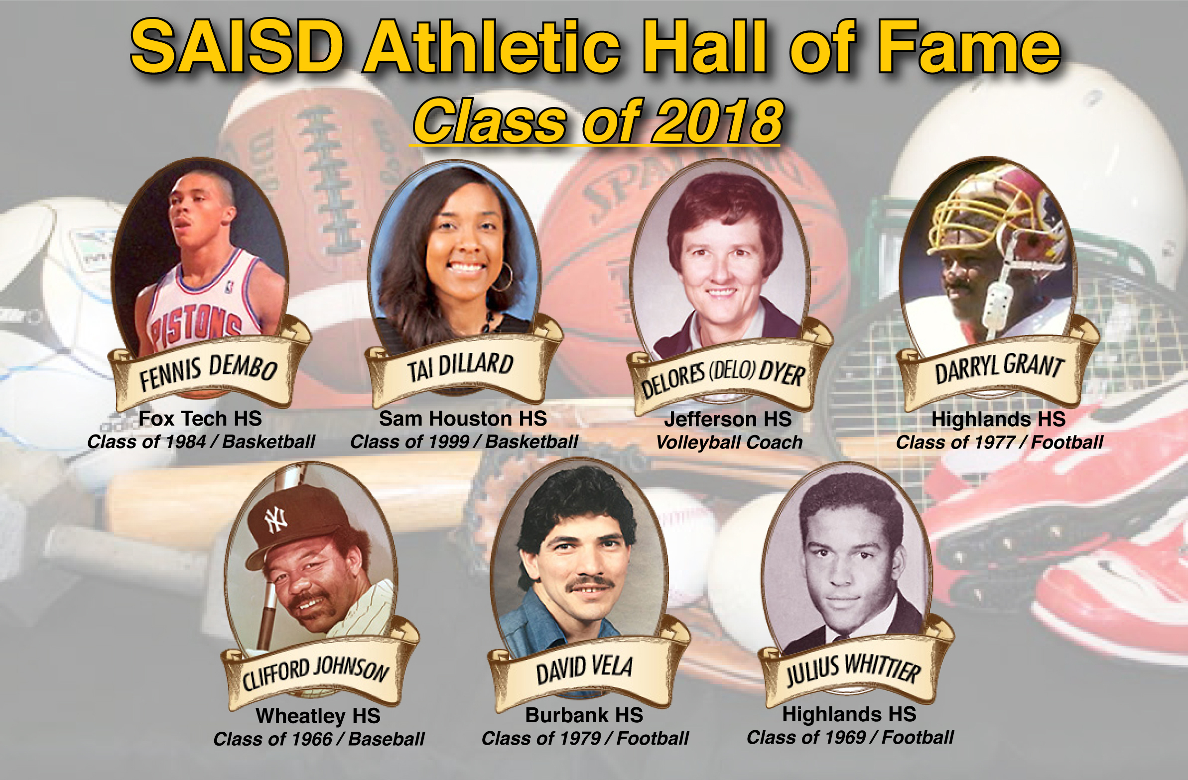 SAISD Athletic Honorees