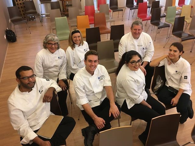 St. Philip's Culinary Students